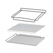 0327001362 Oven Rack & Tray kit Chef GENUINE Part