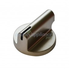 11741801 Stove KNOB SILVER Smeg GENUINE Part