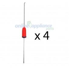 119155600K Washing Machine Suspension Rod 4X Electrolux GENUINE Part