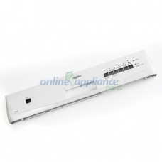 1560723-01/5 Control Panel Silk Screened White Dishlex Dishwasher