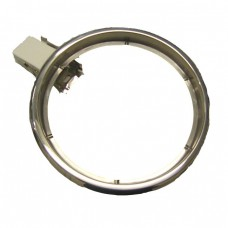 "3501-09 trim ring with socket attached 175mm (7"") chef hotplate"