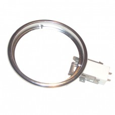 "3503-09 chef 140mm (5 1/2"") Chrome trim ring with socket attache"