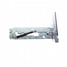 40018 Chef oven door hinge - clip on seal left hand