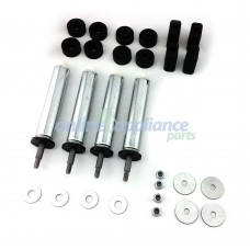 441889 Spring Leg Kit Wm20 4 Pcs Asko Washing Machine