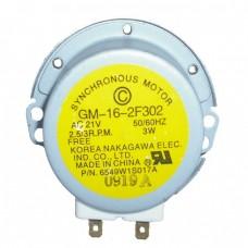 6549w1s017a microwave motor LG