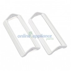 818205P Fridge Basket Handle Wh 2pk Fisher & Paykel GENUINE Part