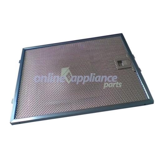 dau1570001 rangehood aluminium filter delonghi