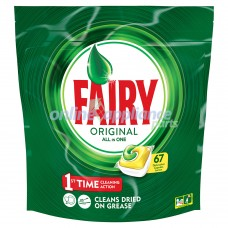 FAIRYTAB-L67 Fairy Auto Dish Tab All In One Lemon 67pk