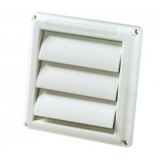 HSR5W Deflecto Wall Vent Gravity 125MM White