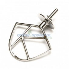 KW712213 K Beater Stainless Steel for Kenwood Chef Delonghi