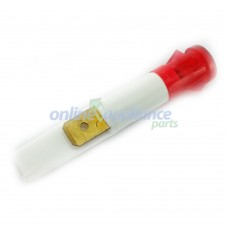 LM009R Stove or Cooker Universal Red Indicator Lamp - 9mm