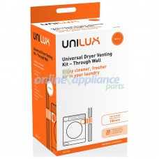 ULX103 Unilux Universal Dryer Through Wall Venting Kit – 100mm Outlet