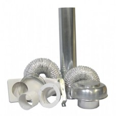 DK4R Deflect-O Dryer Vent Kit with Duct - Roof