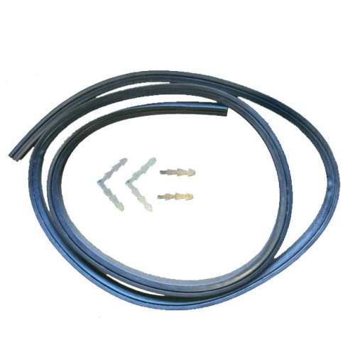 Universal Oven Door Seal Gasket 3 Sided With Clips Chef